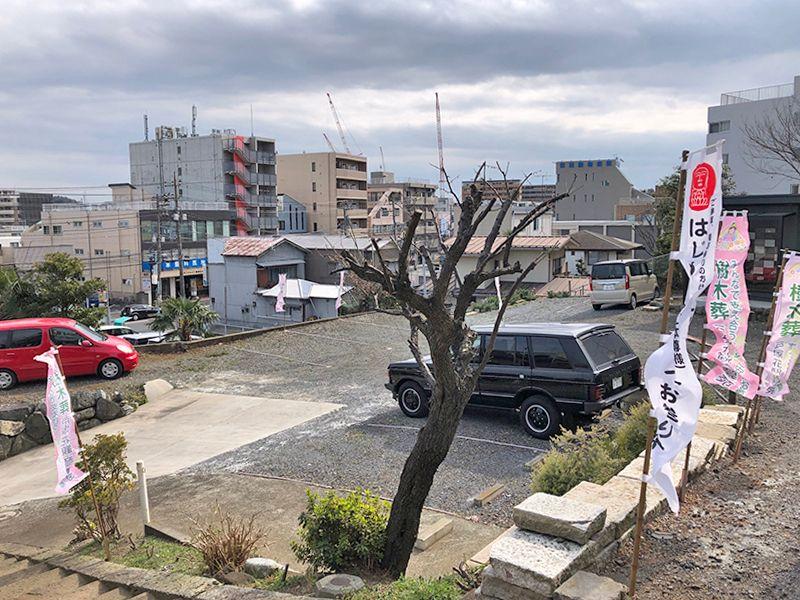 戸塚花観音墓苑 専用駐車スペース