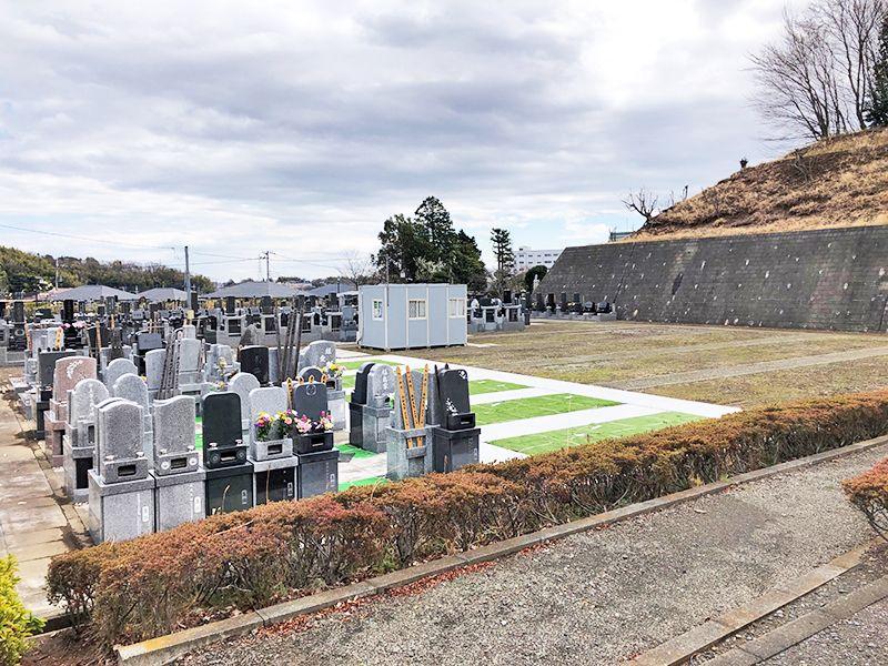 都筑中央霊園 開放感のある墓域