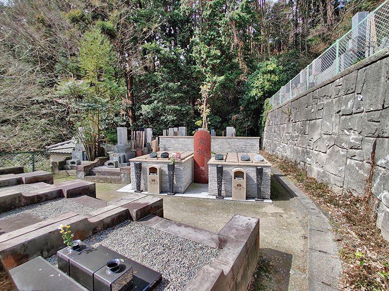 逗子霊苑 緑に囲まれた霊園