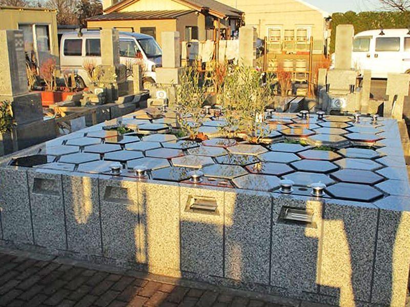 新所沢霊園アルヴェアージュ 日当たり良好な墓地