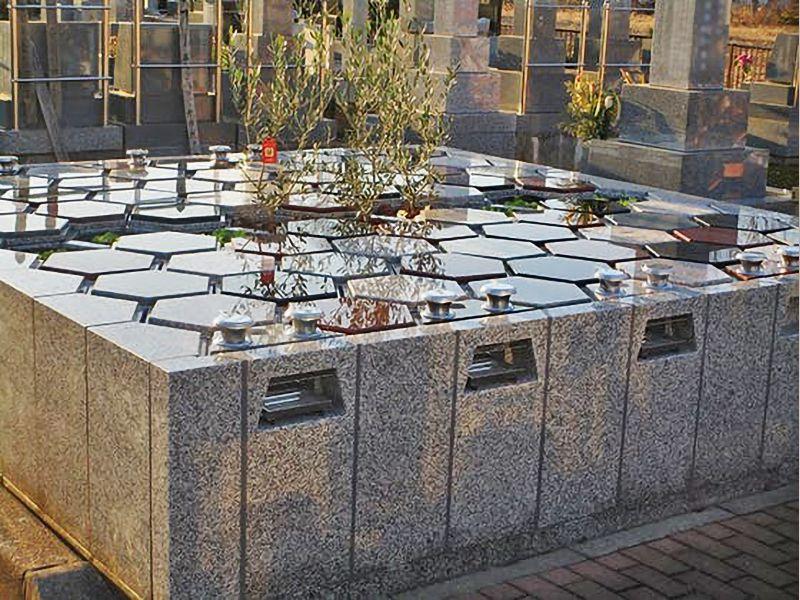 新所沢霊園アルヴェアージュ 手入れされた植栽
