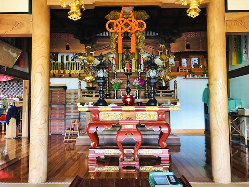 大榮寺 のうこつぼ