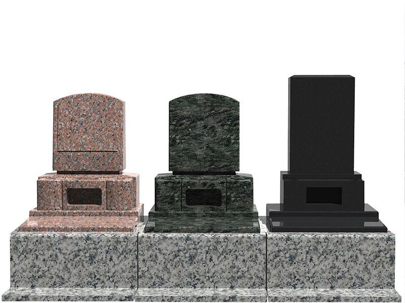 サンク川口霊園 様々な墓石を用意