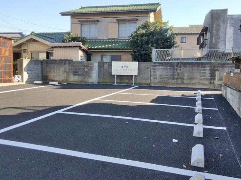吉祥院 のうこつぼ バリアフリーの駐車場