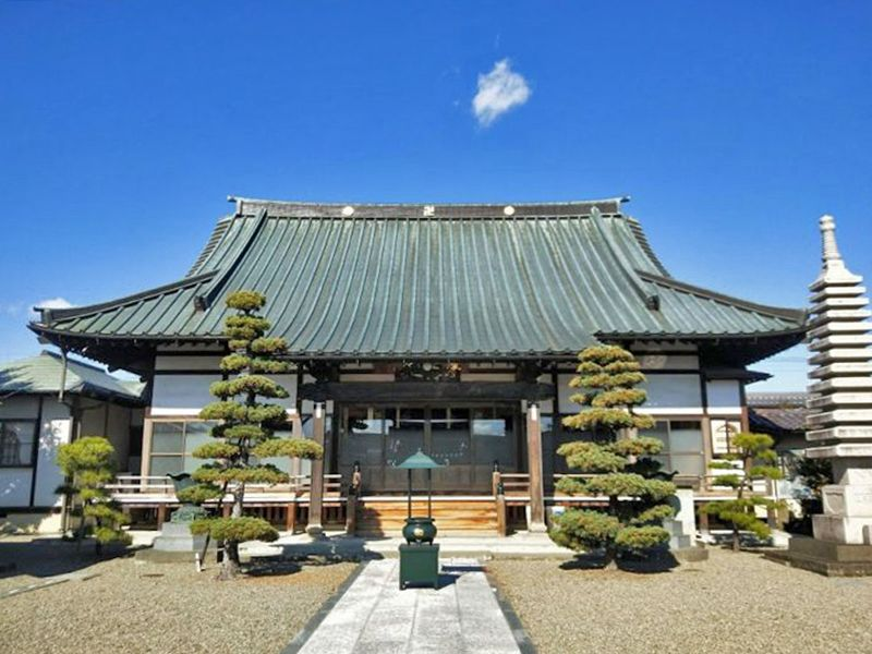 慶福寺 のうこつぼ 美しい本堂