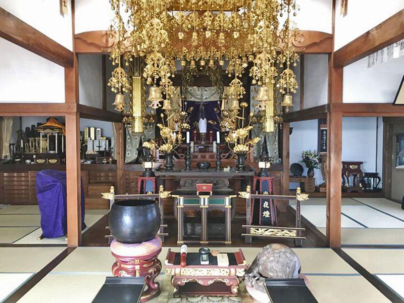常円寺 のうこつぼ 法要施設