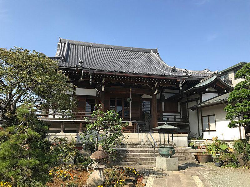 天然寺 のうこつぼ 趣がある本堂