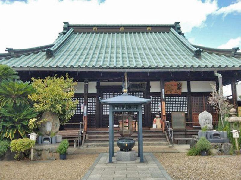 長寳寺 のうこつぼ