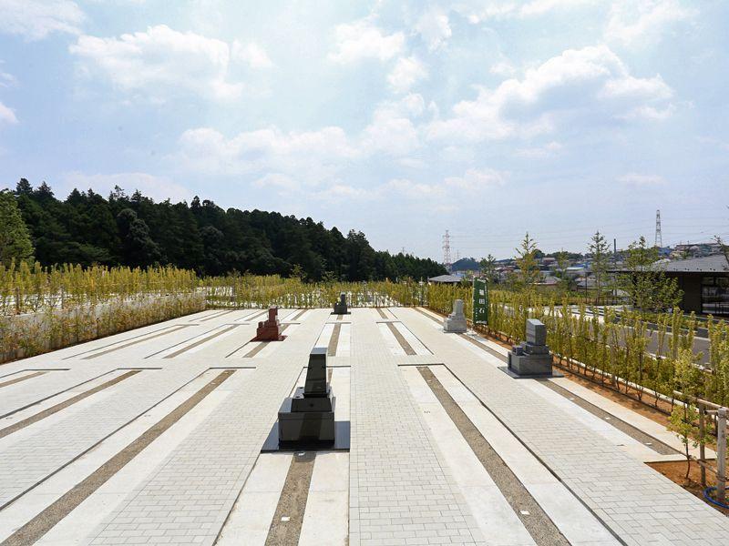 公園墓地 川井聖苑 豊かな自然に囲まれた墓域