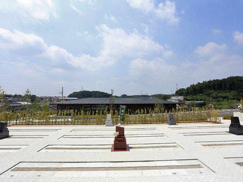 公園墓地 川井聖苑 広い敷地