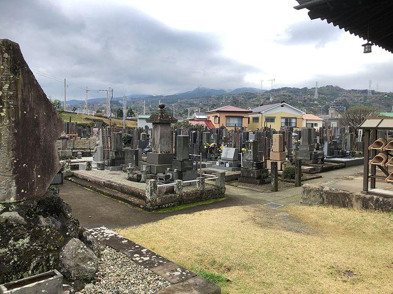 大久寺 一般墓所風景