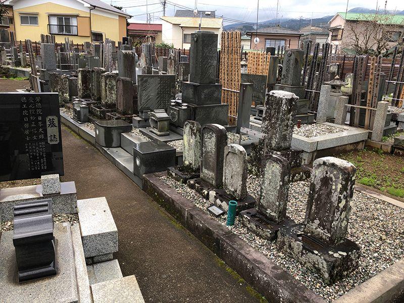 大久寺 和型墓石