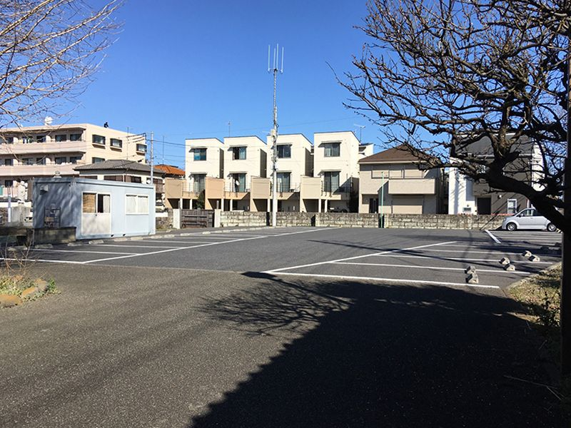 妙善寺 駐車スペース