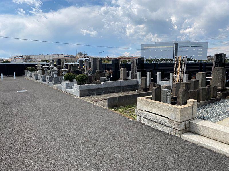 鵠沼共同墓地 ゆとりある墓域