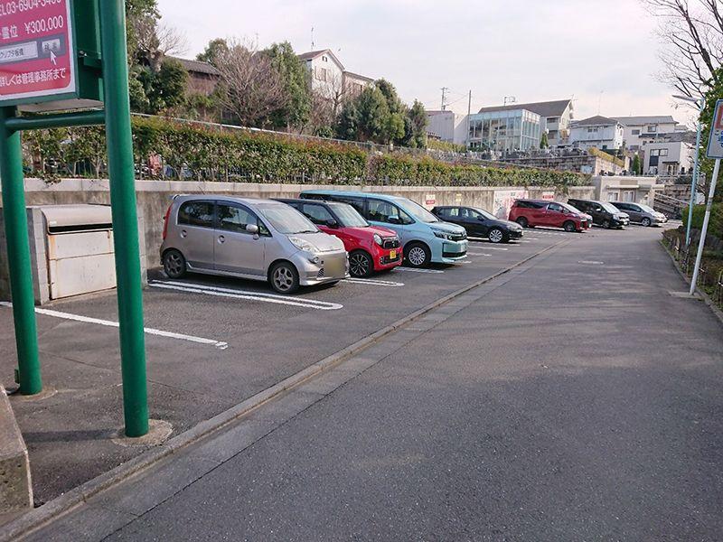 セントソフィア板橋ヒルトップ 駐車スペース