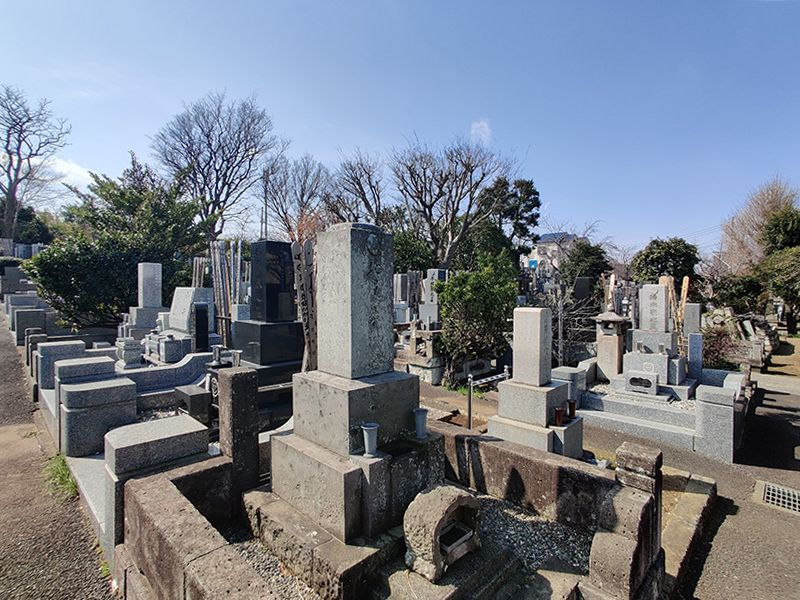 上大岡墓地