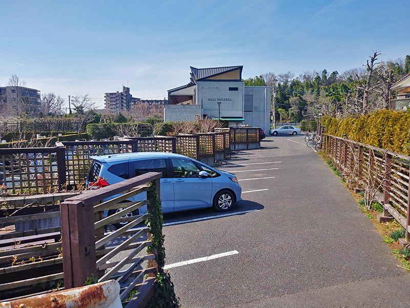 秋津ふれあいパーク バリアフリー駐車場