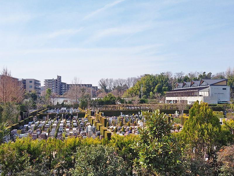秋津ふれあいパーク 日当たりのよい墓域
