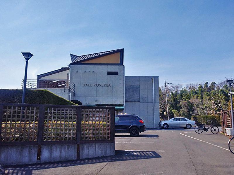 秋津ふれあいパーク 入口の駐輪場