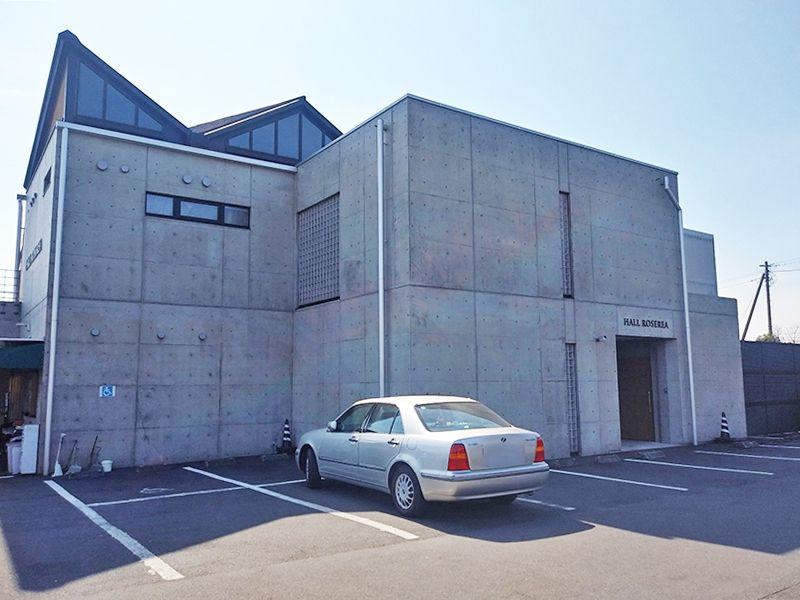 秋津ふれあいパーク 整備された駐車場