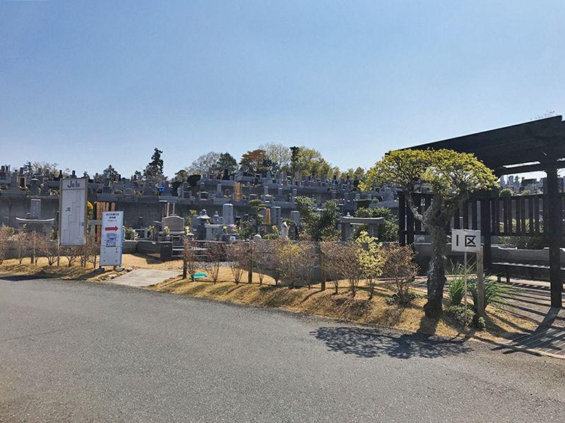 森林公園昭和浄苑 区画整備された墓域
