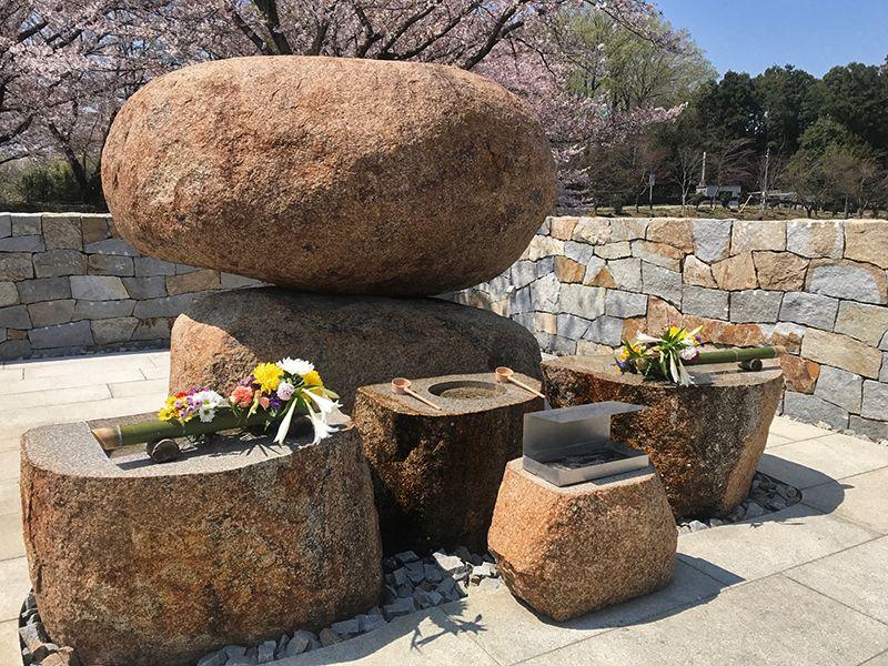 森林公園昭和浄苑 自然に囲まれた永代供養碑