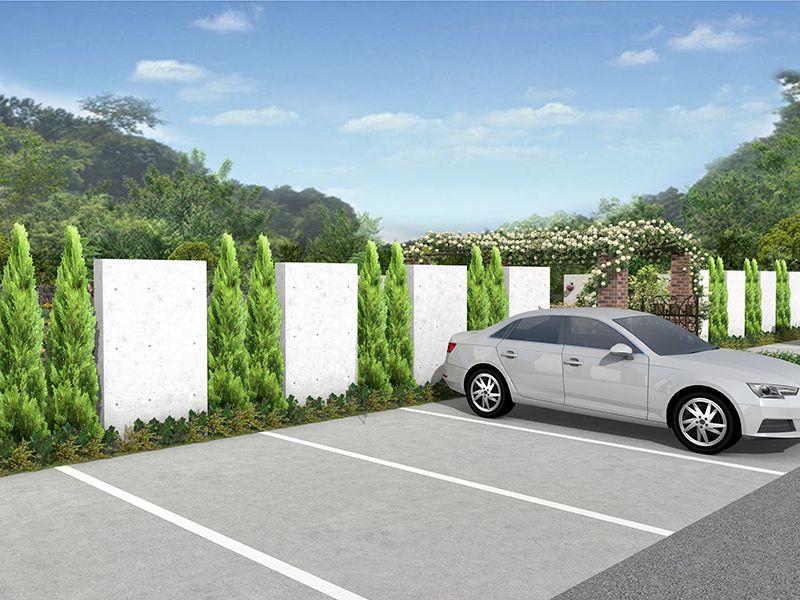 東京霊園 グリーンガーデン 駐車スペース