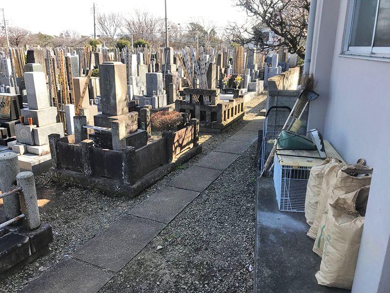 若松 きすげ墓苑