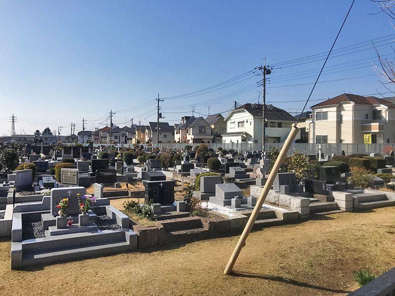 カトリック府中墓地