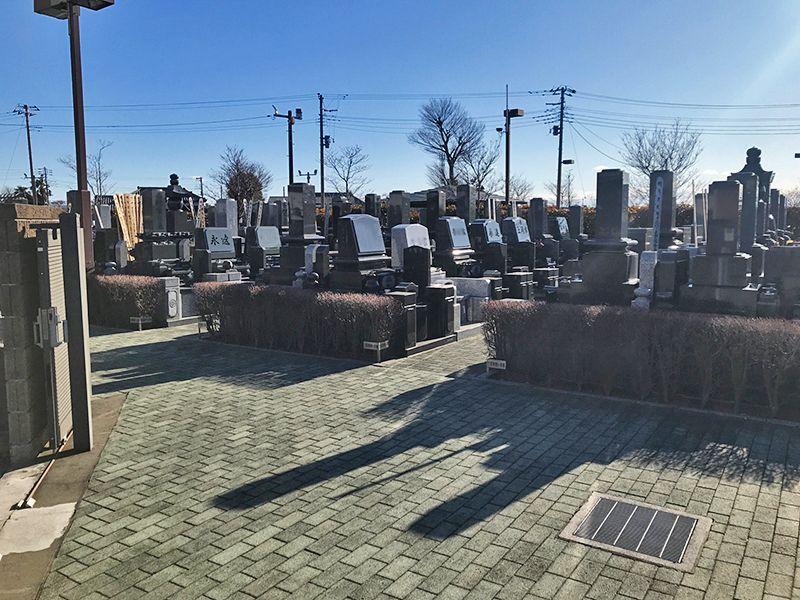 聖苑花みずき 日当たりのよい墓域