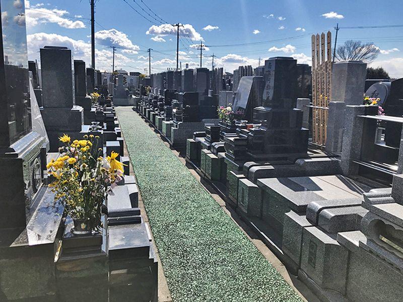 セントグリーン かすかべ聖地霊園 日当たりのよい墓域