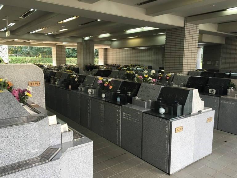 藤沢市営 大庭台墓園 室内立体墓地