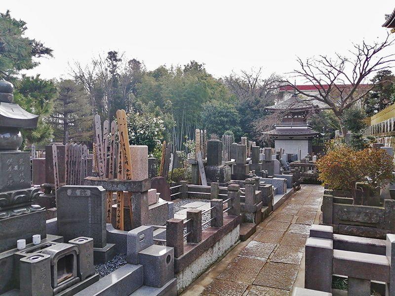 市川国府台樹木葬墓地