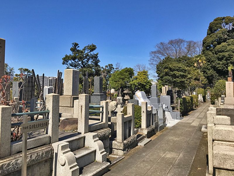 全生庵 境内墓地