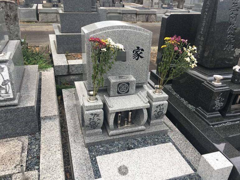 岐阜市営 加納穴釜墓地