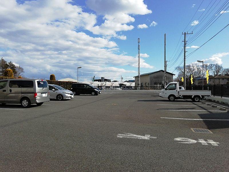セメタリーパーク霊園 駐車スペース