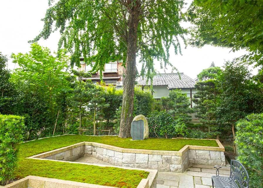 両足院の樹木葬