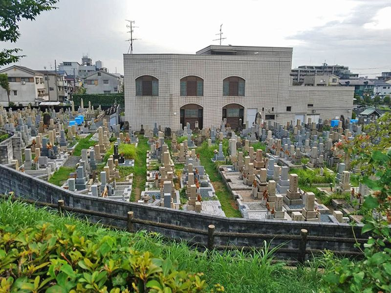 茨木市墓地 風通しがよい墓地