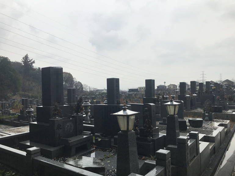 大阪狭山市営 西山霊園 和型墓石