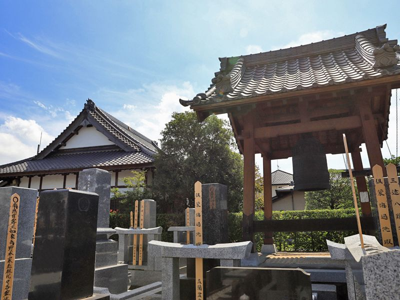 善勝寺 墓域にある鐘