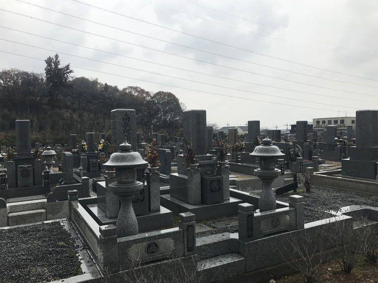大阪狭山市営 西山霊園 園内風景