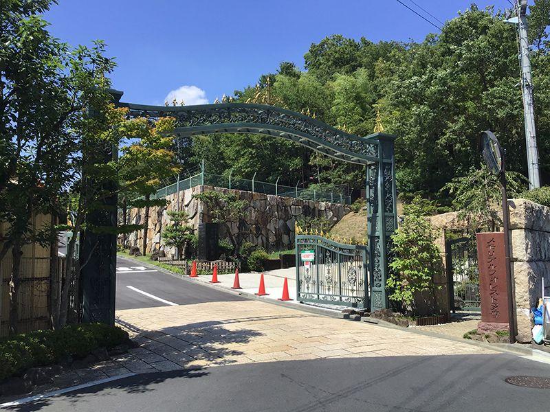 メモリアルフォレスト多摩 霊園入口