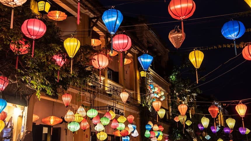 ベトナムランタン祭り