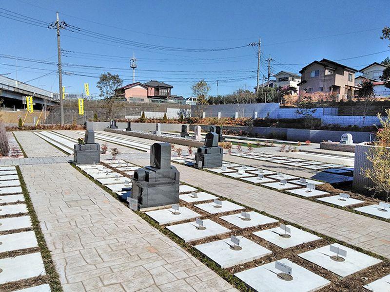 川口中央霊園 ゆとりがある墓地
