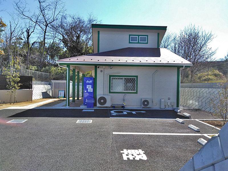 川口中央霊園 駐車スペース