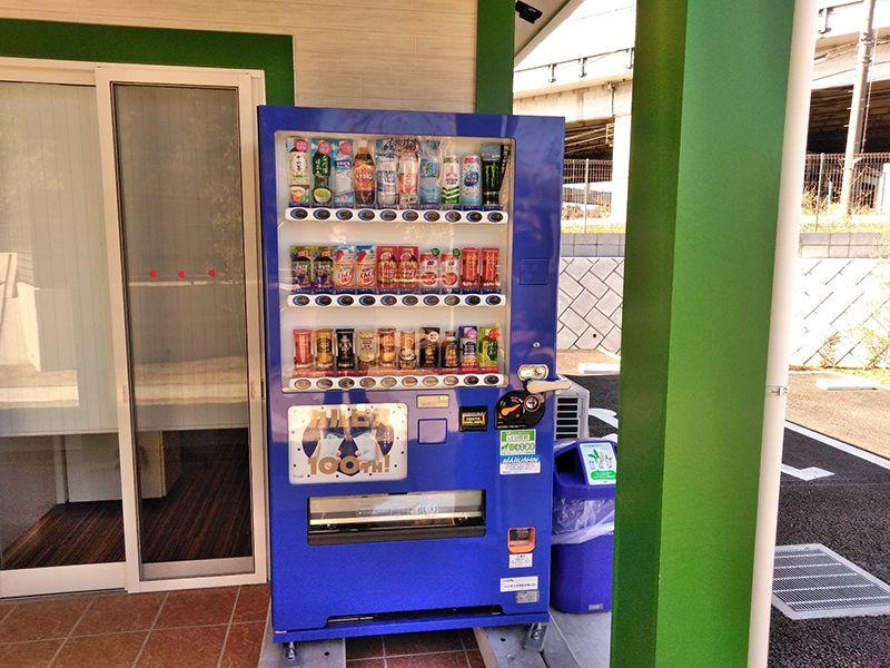 川口中央霊園 自動販売機を完備