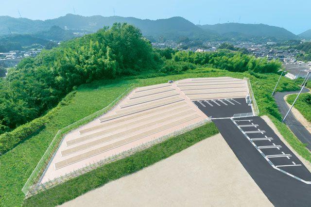 小川中央霊園の全体イメージ