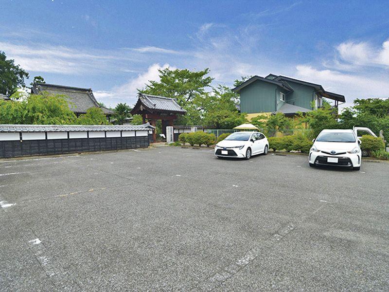 熊谷大樹の里霊園 駐車スペース