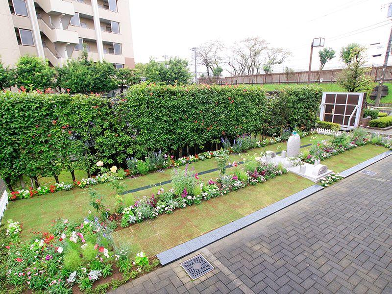 板橋 樹木葬 笑みの樹 バリアフリー設計の墓域