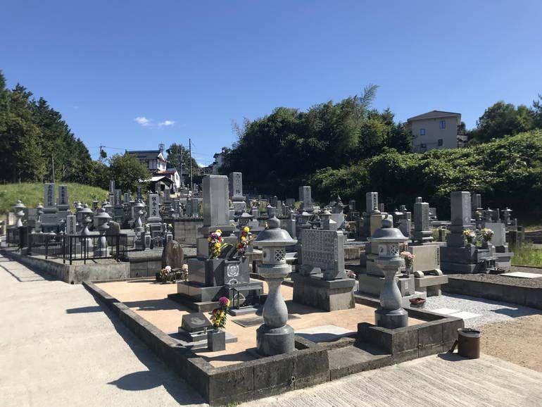 三次市畠敷墓地